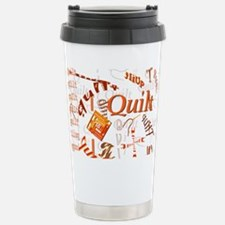 Quilt Pumpkin Travel Mug