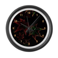 Japanese Maple Large Wall Clock