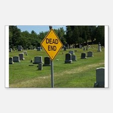Dead End - Rectangle Decal