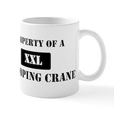 Property of a Whooping Crane Mug