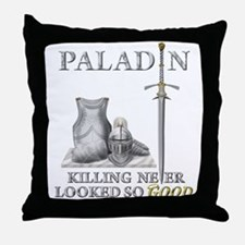 Paladin - Good Throw Pillow