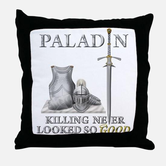 Paladin - Good Throw Pillow
