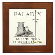 Paladin - Good Framed Tile