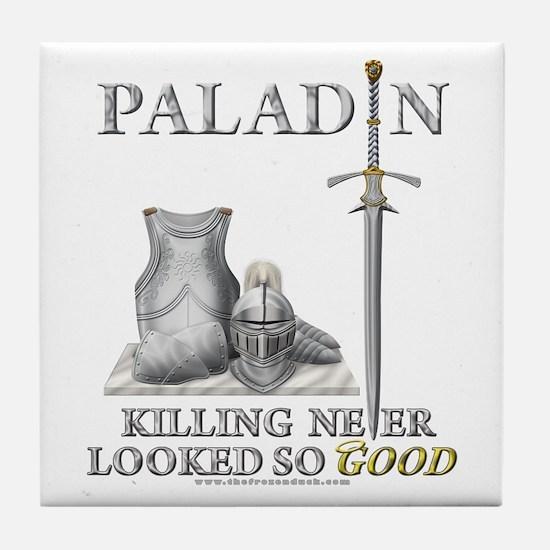 Paladin - Good Tile Coaster