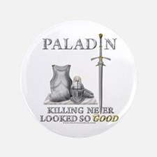 "Paladin - Good 3.5"" Button"