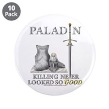 "Paladin - Good 3.5"" Button (10 pack)"