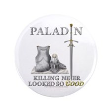 """Paladin - Good 3.5"""" Button (100 pack)"""