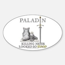 Paladin - Good Oval Decal