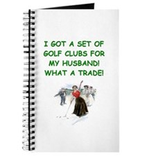 golf humor gifts and t-shirts Journal