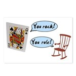 YOU ROCK! YOU RULE! Postcards (Package of 8)