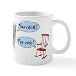 YOU ROCK! YOU RULE! Mug