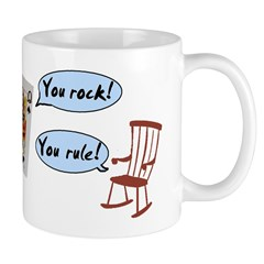 YOU ROCK! YOU RULE! Mug