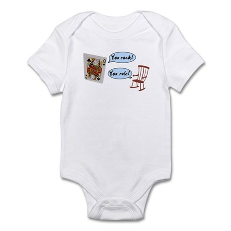 YOU ROCK! YOU RULE! Infant Bodysuit