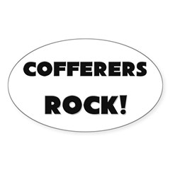Cofferers ROCK Oval Decal