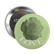 Rose of Love Lime Favor Button