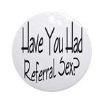 Referral Sex Keepsake (Round)