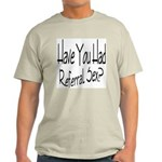 Referral Sex Ash Grey T-Shirt