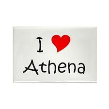 Cool Athena Rectangle Magnet