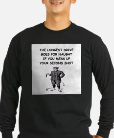 golf humor gifts and t-shirts T