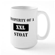 Property of a Stoat Mug