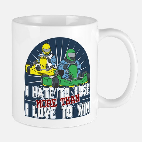 Hate to Lose Go Kart Mug