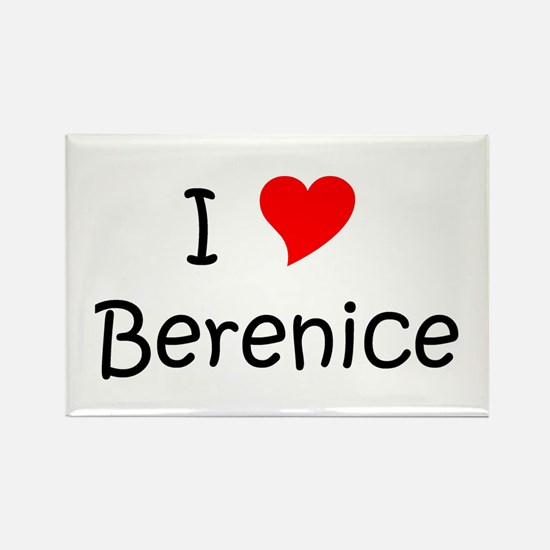 Cool Berenice Rectangle Magnet