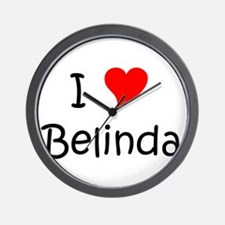 Cute Belinda Wall Clock
