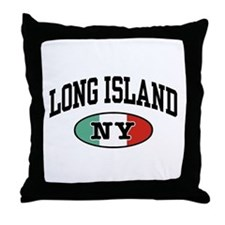 Long Island Italian Throw Pillow