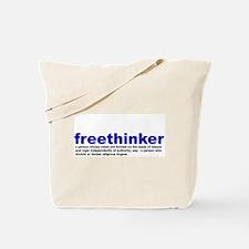 Freethinker Definition Tote Bag