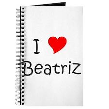 Unique Beatriz Journal
