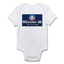NoBama in 08 Infant Bodysuit