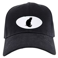 Basic Black Cat Baseball Hat