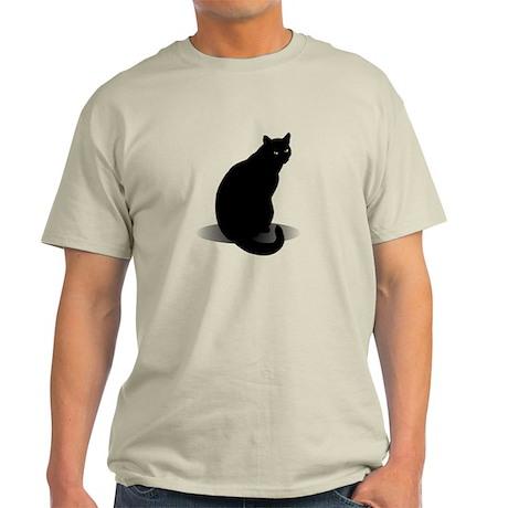 Basic Black Cat Light T-Shirt