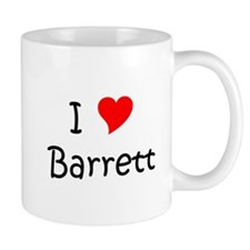 Cute I love barrett Mug