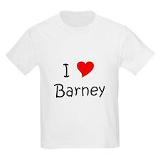 Cute I heart barney T-Shirt