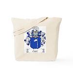 Lanzi Family Crest Tote Bag