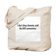 DVD commentary Tote Bag