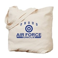 Proud Air Force Uncle Tote Bag