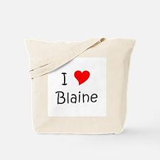 Unique Blaine Tote Bag