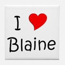 Cute Blaine Tile Coaster