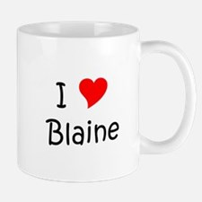 Unique Blaine Mug