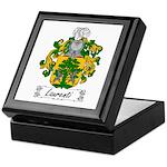 Laurenti Family Crest Keepsake Box