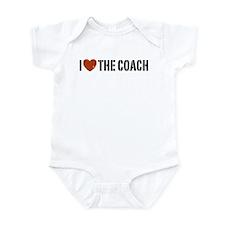I Love The Coach Infant Bodysuit