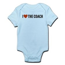 I Love The Coach Infant Bodysuit