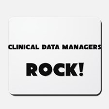 Clinical Data Managers ROCK Mousepad