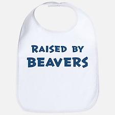 Raised by Beavers Bib
