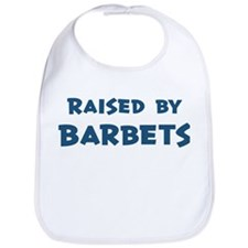 Raised by Barbets Bib