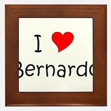 Cool Bernardo Framed Tile