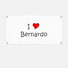 Cute Bernardo Banner
