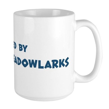 Raised by Eastern Meadowlarks Large Mug